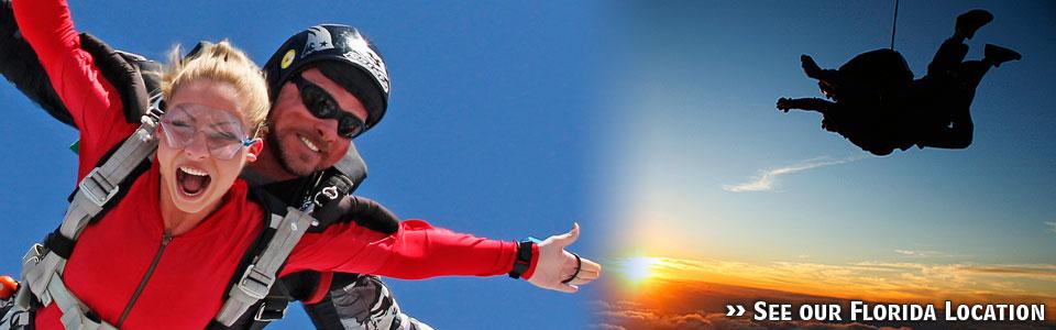 Skydive Spaceland-Houston skydivers