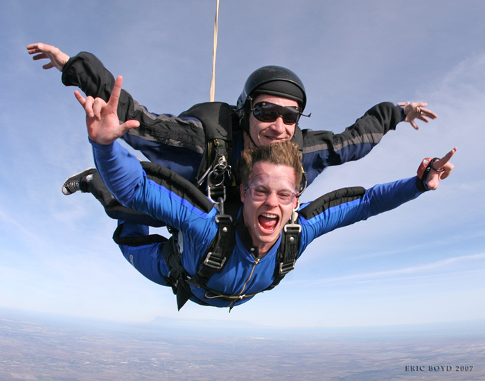 Your First Jump: Tandem Skydiving!