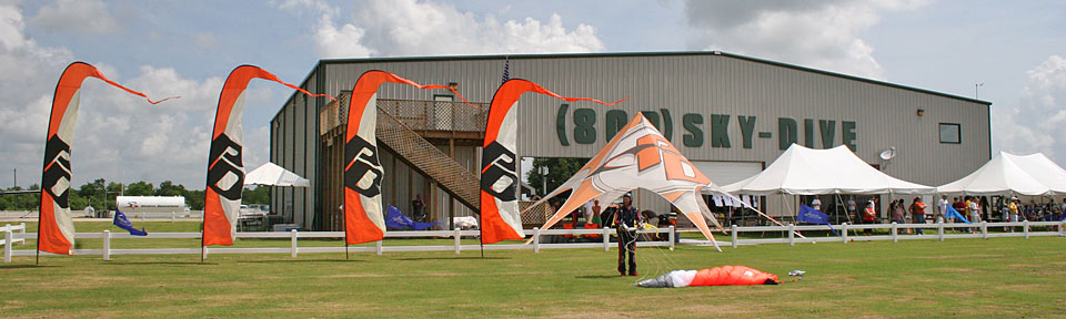 Skydive Spaceland Facilities