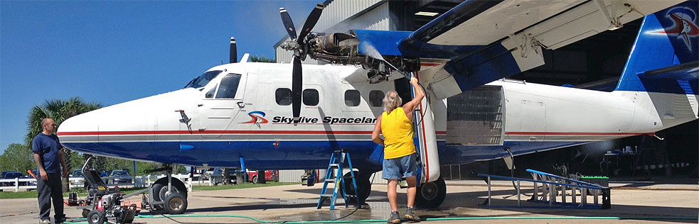 Skydive Spaceland Maintenance Staff