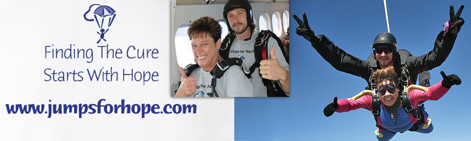 Skydiving to Fight Cancer with Alana Wilson of Jumps for Hope (8/31/12)