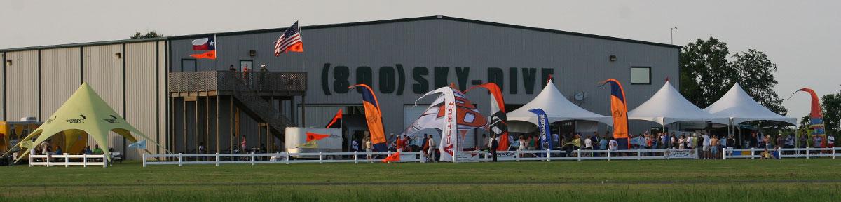 Skydive Spaceland Houston Facilities