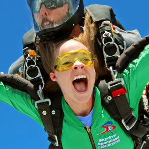 Your First Skydive at Skydive Spaceland!