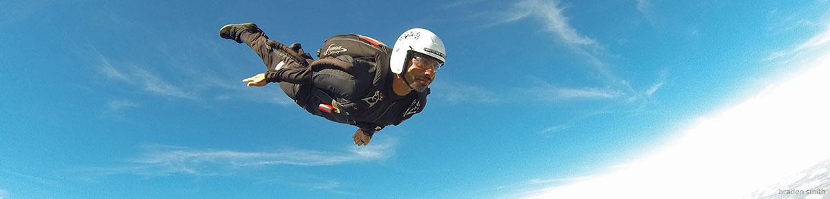 Skydiver Training Program tracking