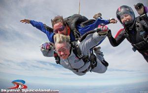 Houston Mayor Annise Parker at Skydive Spaceland