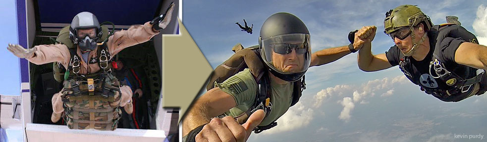 Skydive Spaceland Announces Military Transition Program