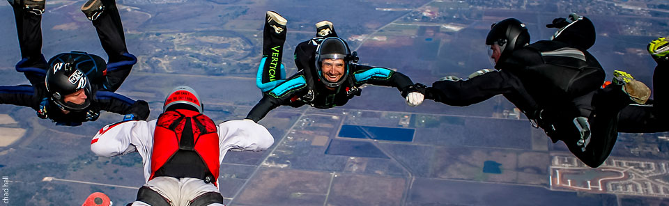 Transitions free coaching for new skydivers