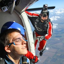 Tandem Skydiving Video + Photos