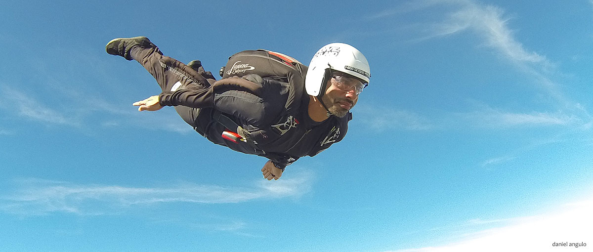 Slider Skydiver Training Program track